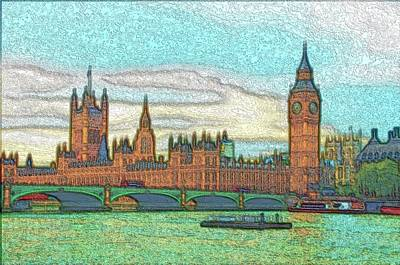 Photograph - London Palace Of Westminster by Steven Richman