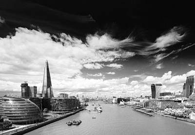 Art Print featuring the photograph London Panorama by Chevy Fleet