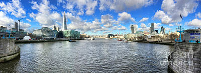 Tower Of London Photograph - London Panorama by Colin and Linda McKie