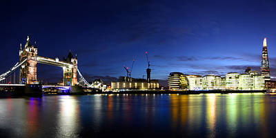 Photograph - London Panoramic by Ken Brannen