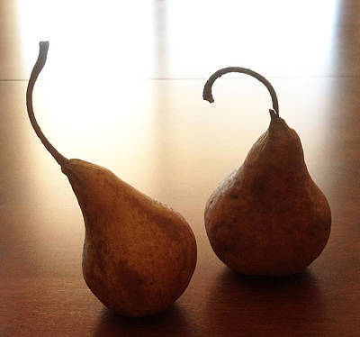 Photograph - London Pears by Marie-louise McHugh