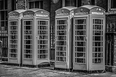London Phone Boxes Original