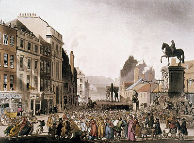 Humiliation Painting - London Pillory, C1810 by Granger