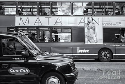 Photograph - London Public Transportation II by Clarence Holmes