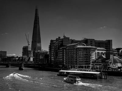 Photograph - London - River Thames 001 by Lance Vaughn