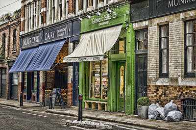 Photograph - London Shop Fronts by Heather Applegate