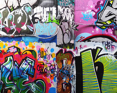 Graffitti Photograph - London Skate Park Abstract by Rona Black