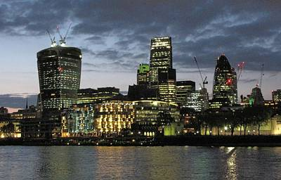 Pyrography - London Skyline by Gary Smith
