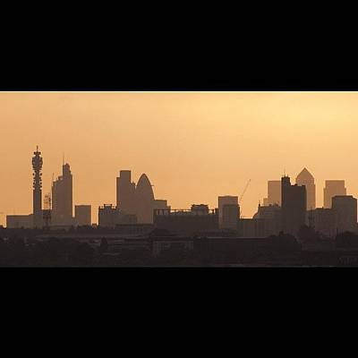London Skyline Photograph - #london #skyline Just After #sunrise In by Londonshadow Londonshadow