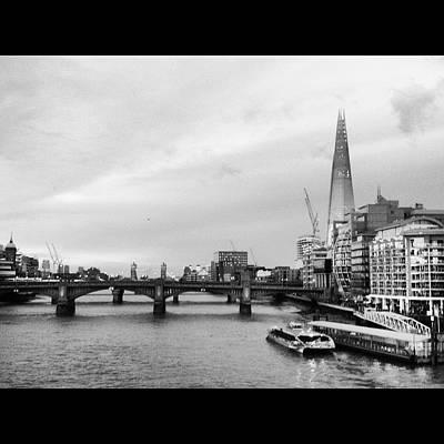 London Skyline Art Print by Maeve O Connell