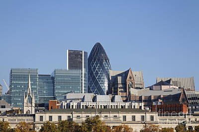 London Skyline Photograph - London Skyline by Robert Preston