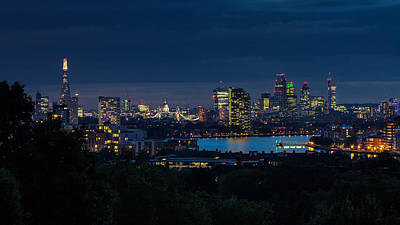 Photograph - London Skyline by Wayne Molyneux
