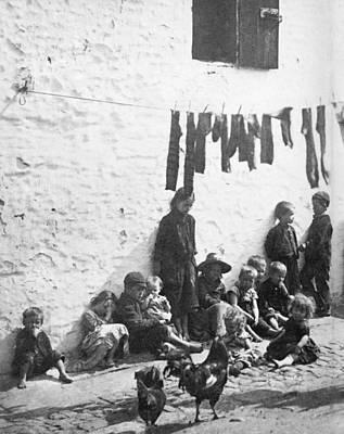 Photograph - London Slum, C1890 by Granger