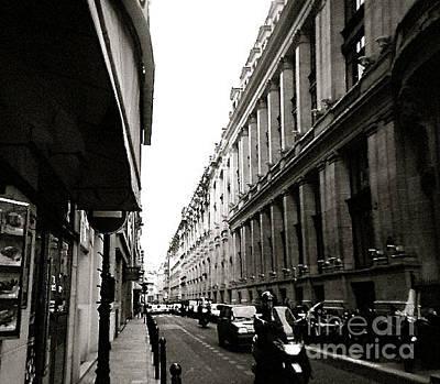 Photograph - London Street by Anita Lewis