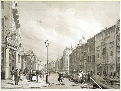 It Is As It Was Photograph - London Street by British Library