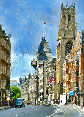 London Sunday View Art Print