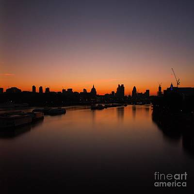 London Sunrise 2 Art Print