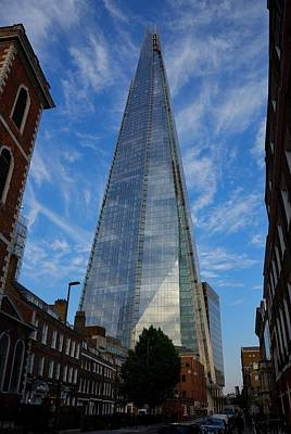 Photograph - London The Shard by Steven Richman
