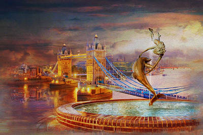 Achieving - London Tower Bridge by Catf