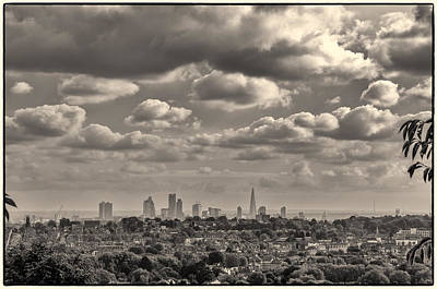 Photograph - London Town Seen From Alexandra Palace by Lenny Carter