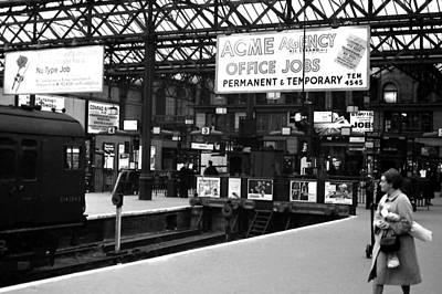 Photograph - London Tube Stop by Robert  Rodvik