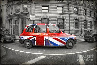 Car Jacking Photograph - London's Calling by Evelina Kremsdorf