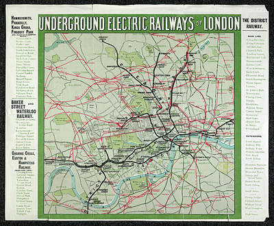 Hyde Park Photograph - London's Underground Railways by British Library