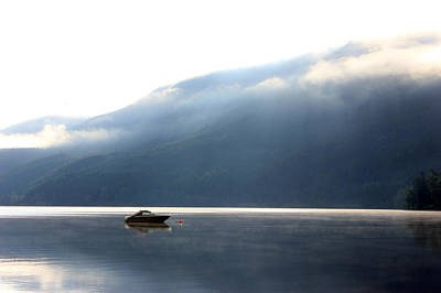 Photograph - Lone Boat  by Connie Zarn