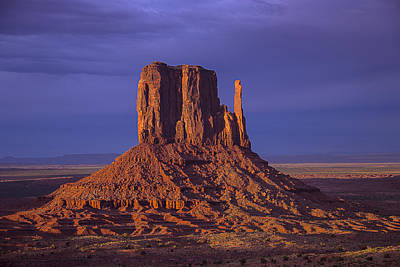 Photograph - Lone Butte by Garry Gay