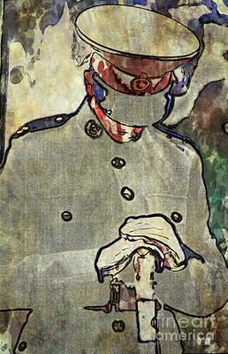 Rememberance Digital Art - Lone Cadet by Paul Stevens