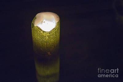 Photograph - Lone Candle by David Arment