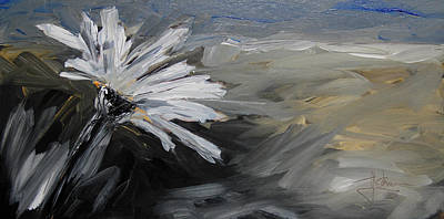 Painting - Lone Daisy by Jim Vance