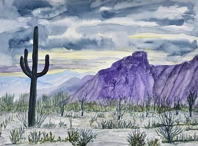 Lone Saguaro  Original