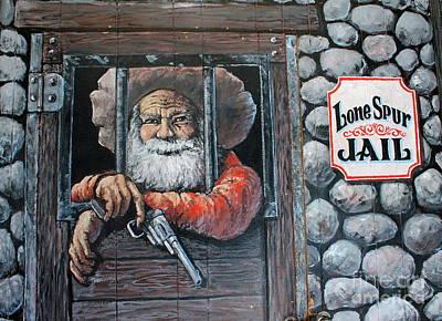 Photograph - Lone Spur Jail by Pamela Walrath