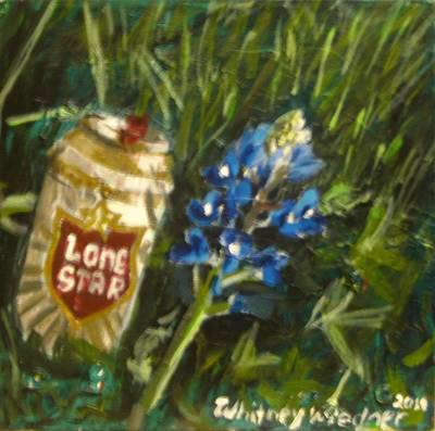 Painting - Lone Star Blue by Whitney Wiedner