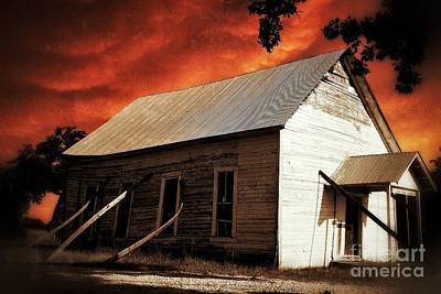 Photograph - Lone Star Church by AK Photography