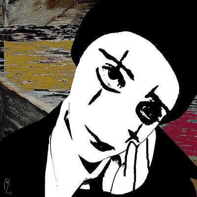 Digital Art - Lone Star by Maria Jesus Hernandez