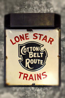 Photograph - Lone Star Trains Cotton Belt Route Dsc09492 by Greg Kluempers