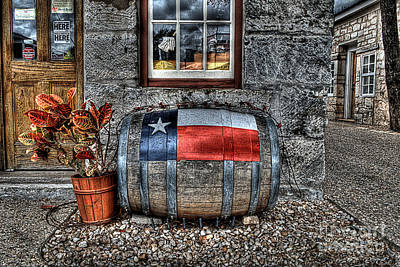 Winery Photograph - Lone Star Wine by Hilton Barlow
