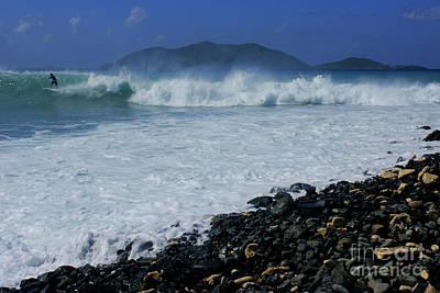 Photograph - Lone Surfer by David Birchall
