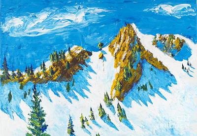 Painting - Lone Tree 1 by Walt Brodis