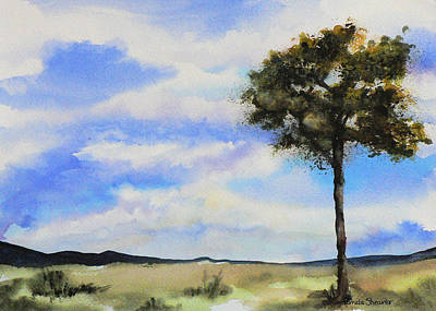 Painting - Lone Tree Colorado by Pamela Shearer