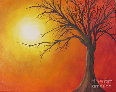 Painting - Lone Tree by Denise Hoag