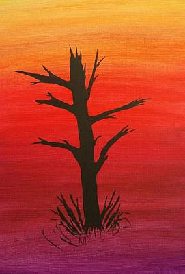 Lone Tree Art Print by Keith Nichols