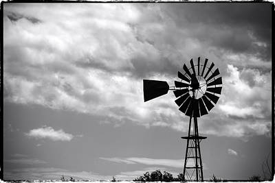Photograph - Lone Windmill On The Prairie by John McArthur
