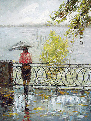 Loneliness Art Print by Dmitry Spiros