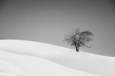Minimalism Photograph - Loneliness by Marta Walla