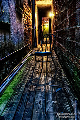 Photograph - Lonely Alley by Christopher Holmes