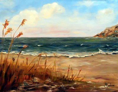 Lonely Beach Art Print