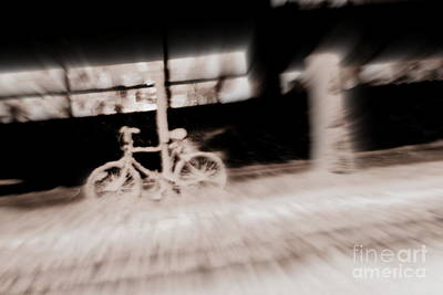 Photograph - Lonely Bike by A K Dayton